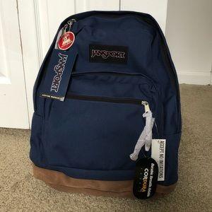 BRAND NEW Navy Blue JanSport Right Pack